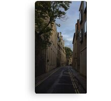 Oxford, England, Brewer Street Canvas Print