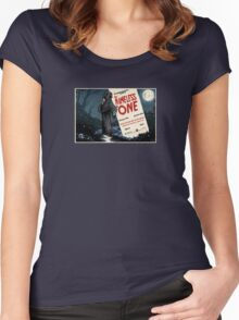 The Nameless One Women's Fitted Scoop T-Shirt
