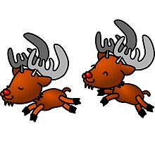 2 Reindeers by boogeyman