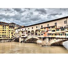 The Ponte Vecchio (Florence) Photographic Print
