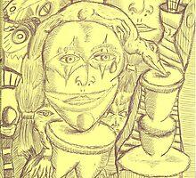 clown tear by wormink