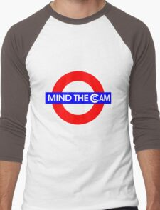 Mind the Cam Men's Baseball ¾ T-Shirt