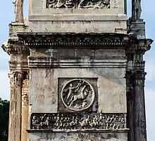 Rome - The Arch of Constantine by Andrea Mazzocchetti