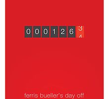 The Desired Mileage - Ferris Bueller's Day Off by bdi-design