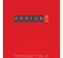 The Desired Mileage - Ferris Bueller's Day Off by bdi-design