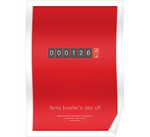The Desired Mileage - Ferris Bueller's Day Off Poster