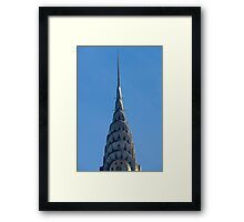 The Historic Chrysler Building in Manhattan Framed Print
