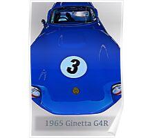 1965 Ginetta G4R Racecar Poster