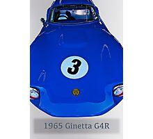 1965 Ginetta G4R Racecar Photographic Print