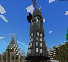 Minecraft Dalek by nonny