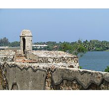 Batticaloa Fort, Sri Lanka Photographic Print