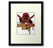 SAMURAI_SOUL Framed Print