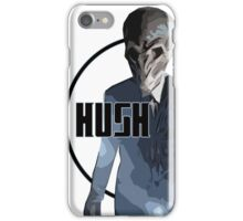 Dr Who - Hush (Silence) iPhone Case/Skin