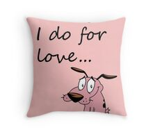COURAGE THE COWARDLY DOG Throw Pillow