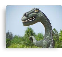 Eco Dinosaur, Batticaloa, Sri Lanka Canvas Print