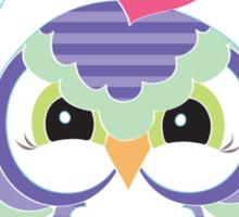 Christmas Owl .. tee shirt Sticker