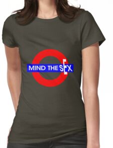 Mind the Sex Womens Fitted T-Shirt