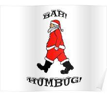 Grumpy Christmas Poster