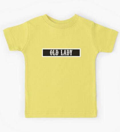 Old Lady Kids Tee