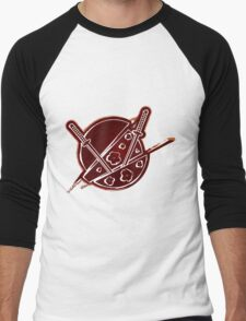 SAMURAI_SOUL Men's Baseball ¾ T-Shirt