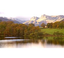 The Langdales and Loughrigg Photographic Print