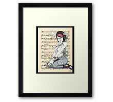 Military Maven Framed Print