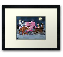 Cereal Monsters Framed Print