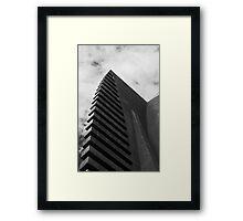 Crossing (Vertical) Sculpture Framed Print