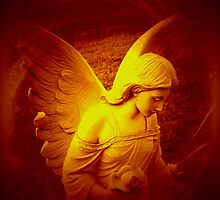 An Angel Spreading Love, Peace and Joy For You by Marie Sharp by Marie Sharp