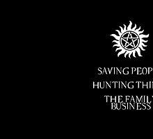 Supernatural motto by Carol Oliveira