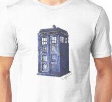 T.A.R.D.I.S. - Original Drawing  Unisex T-Shirt