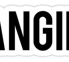 Fangirl Sticker