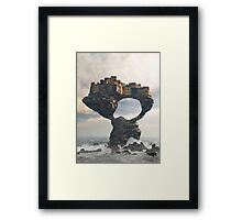 Precarious Framed Print