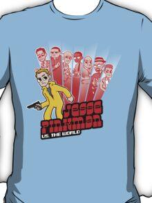 Jesse Pinkman vs. the world! T-Shirt