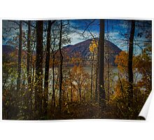 Hudson River Valley Fall View Poster