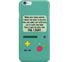 BMO Case Quote iPhone Case/Skin