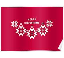 Festlig- Merry Christmas Poster