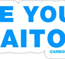 Are You A Traitor? Sticker