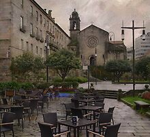 Rainy day at Pontevedra by rentedochan