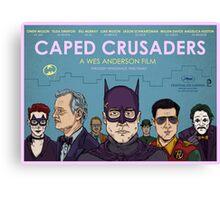 Caped Crusaders Canvas Print