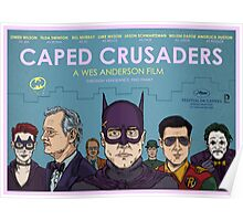 Caped Crusaders Poster