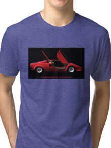 Lamborghini Countach Tri-blend T-Shirt