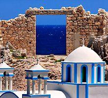 Sacred gate of the Aegean by Hercules Milas