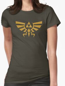 Zelda Triforce Womens Fitted T-Shirt