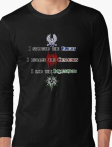 The Hero of Dragon Age Long Sleeve T-Shirt