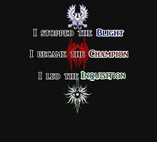 The Hero of Dragon Age Unisex T-Shirt