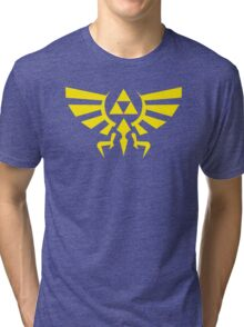 Zelda Triforce Tri-blend T-Shirt