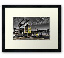 Marina Boat Sales Office Framed Print