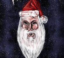 HO HO Holiday Card by Topher Adam by TopherAdam