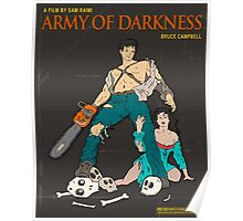 Army Of Darkness Brown Poster